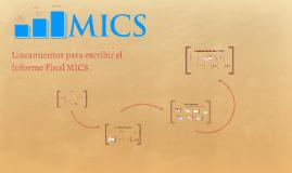 Informe Final MICS