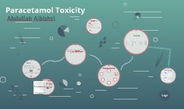 Copy of Paracetamol Toxicity