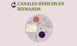 CANALES EN HUMANOS
