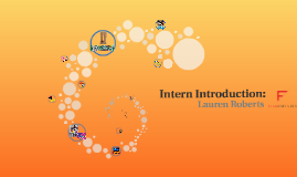 Intern Introduction: