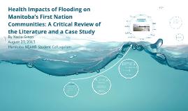 Flooding impacts