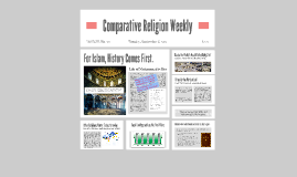 Islam: Comparative Religion Weekly
