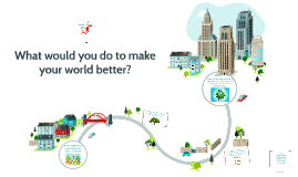 What would you do to make your world better?