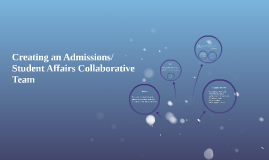 Establishing an Admissions/Student Affairs Collaborative Tea