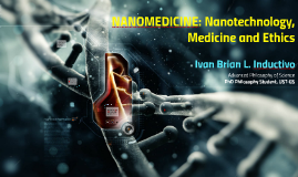 Ivan Brian Inductivo Nanomedicine and Ethics