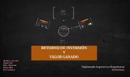 RETORNO DE INVERSIÓN