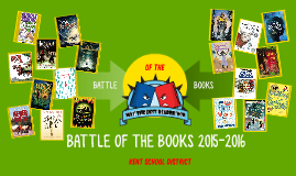 BATTLE OF THE BOOKS Kent School District 2015-2016