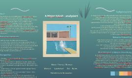 A Bigger Splash - analysiert