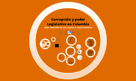 Copy of El poder legislativo y la corrupción en Colombia