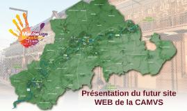 Copy of Présentation du futur site WEB de la CAMVS