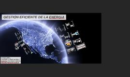 GESTIÓN EFICIENTE DE ENERGÍA