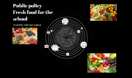 Public policy  Fresh food
