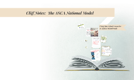Cliff Notes:  The ASCA National Model