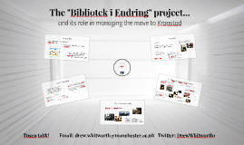 "The ""Bibliotek i Endring"" project..."