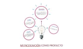 Copy of METACOGNICIÓN COMO PRODUCTO