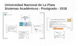 Sistemas Académicos - CeSPI - UNLP - Postgrado