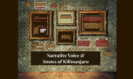 Narrative Voice &