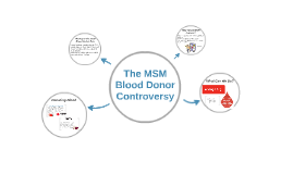 The MSM Blood Donor Controversy