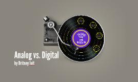 Analog vs. Digital
