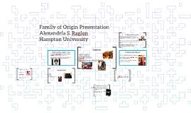 Family of Origin Presentation