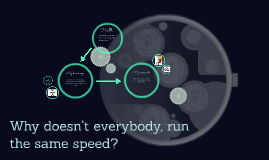 why doesn't everybody run the same speed?
