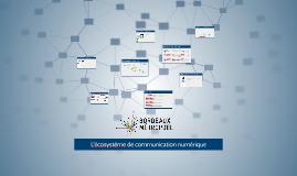 écosystème de communication numérique