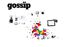 From Print to Digital : Gossip Magazine
