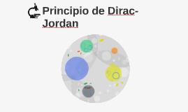 Principio de Dirac-Jordan