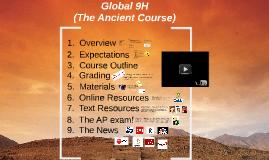 Global 9H (Pre-AP)