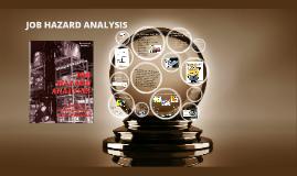 Copy of Job Hazard Analysis