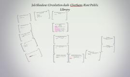 Job Shadow: Circulation desk- Chatham-Kent Public Library