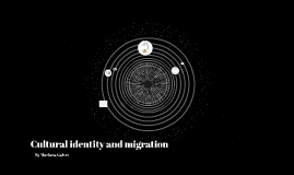 Cultural identity and migration