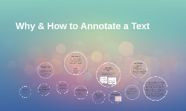 Copy of Why & How to Annotate a Text