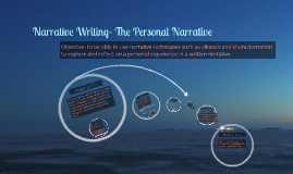 Narrative Writing- The Personal Narrative