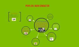 Copy of PERFIL DE UN BUEN CONDUCTOR PROFESIONAL