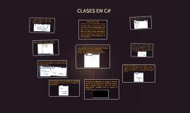 CLASE EN C#