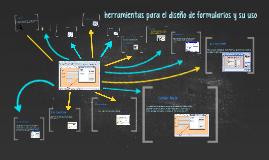 herramientas para el diseño de formularios y su uso