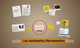 SEMINARIOS PERMANENTES