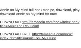 annie on my mind pdf free download