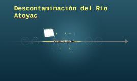 Descontaminación del Río Atoyac