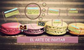 EL ARTE DE INVITAR