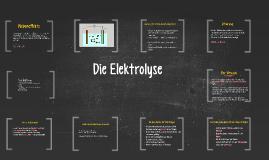 Copy of Die Elektrolyse