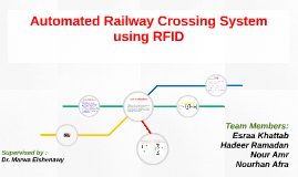 Automated Railway Crossing System using RFID