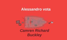 Alessandro vota