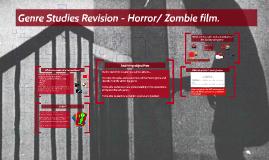 Genre Studies - Horror.
