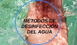 Copy of MÉTODOS DE DESINFECCIÓN DEL AGUA
