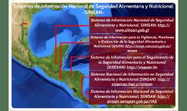 Sistemas de Información Nacional de Seguridad Alimentaria y