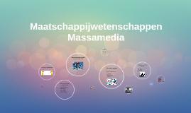 Maatschappijwetenschappen, Massamedia H1