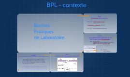 Contexte BPL