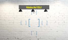 Mahahra Hui l EU17